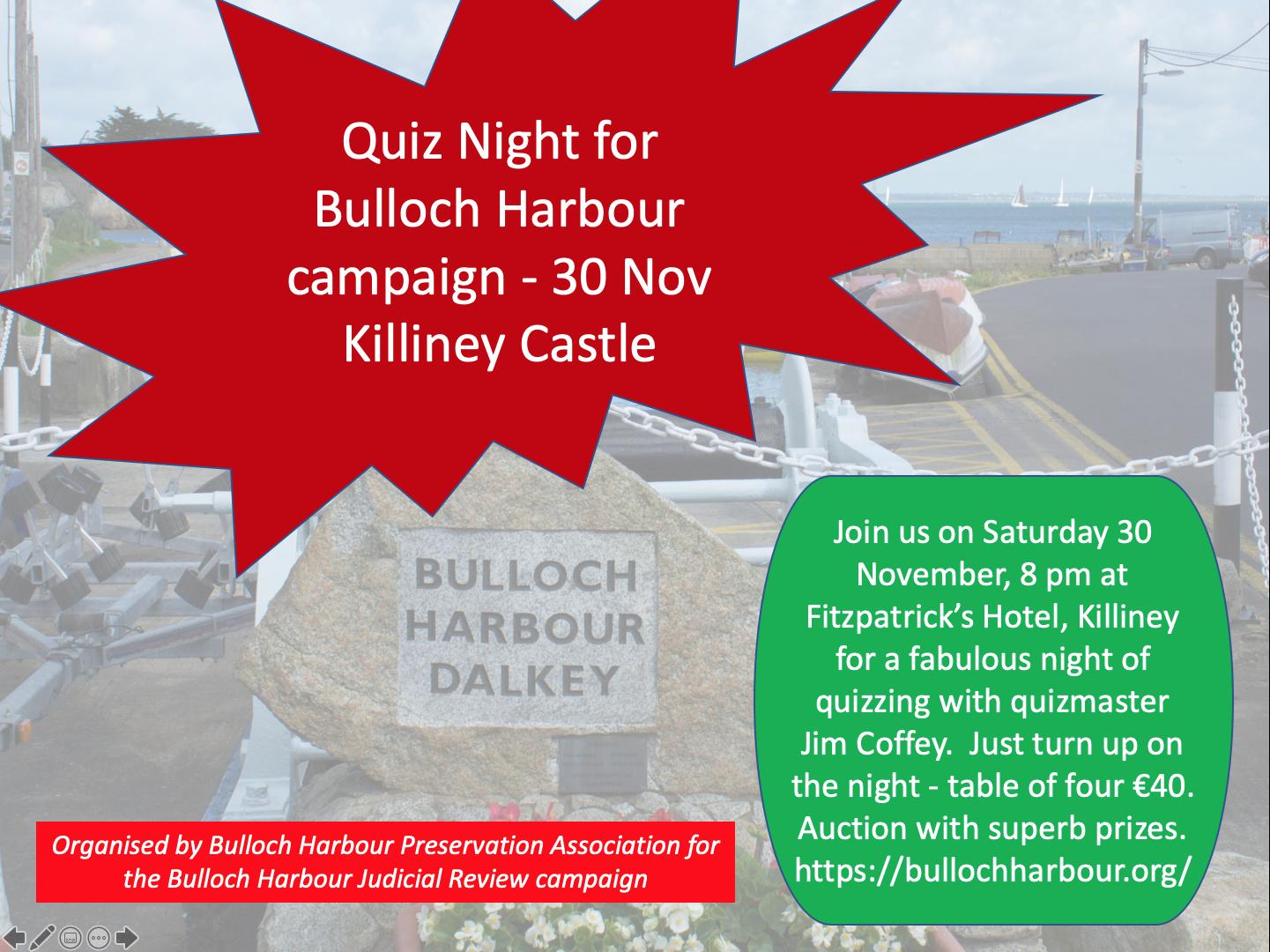 Bullock quiz night poster1