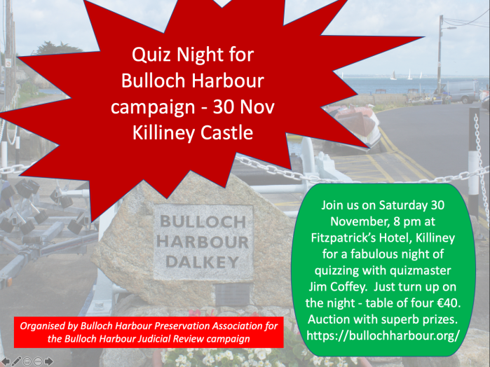 Bullock quiz night poster1